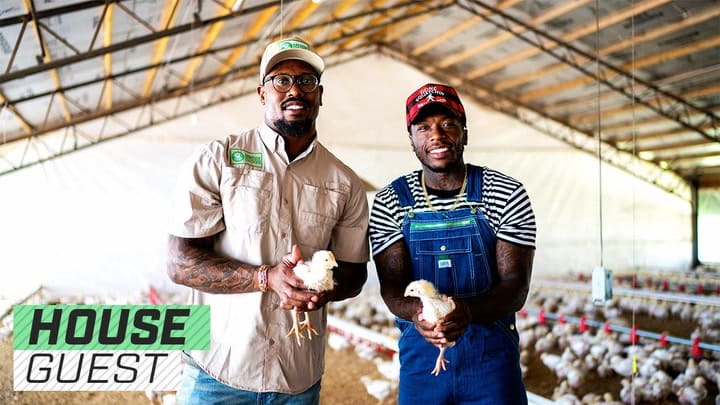 Houseguest with Nate Robinson and Von Miller