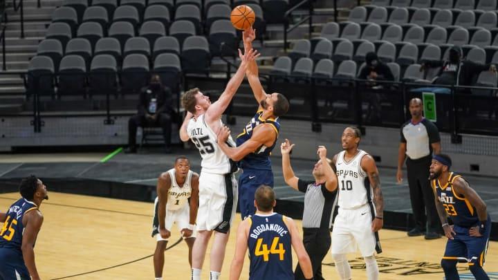 San Antonio Spurs Jakob Poeltl (Daniel Dunn-USA TODAY Sports)