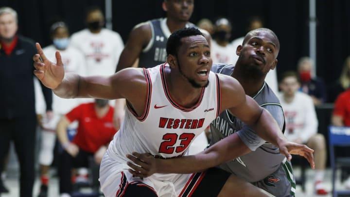 San Antonio Spurs draft prospect Charles Bassey (Tim Heitman-USA TODAY Sports)