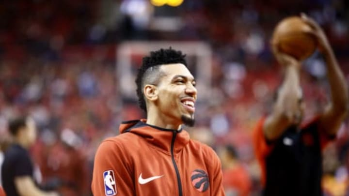 Former San Antonio Spurs shooting guard Danny Green plays his first game in Toronto (Photo by Mark Blinch/NBAE via Getty Images)