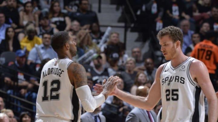 San Antonio Spurs (Photos by Mark Sobhani/NBAE via Getty Images)