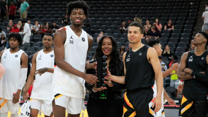James Wiseman and Cole Anthony (Photo by Jeff Speer/Icon Sportswire via Getty Images)