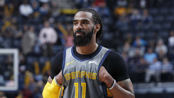 MEMPHIS, TN – MARCH 23: Mike Conley #11 of the Memphis Grizzlies looks on during the game against the Minnesota Timberwolves (Photo by Joe Robbins/Getty Images)