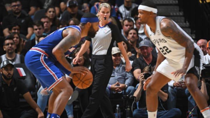 New York Knicks v. San Antonio Spurs (Photos by Garrett Ellwood/NBAE via Getty Images)