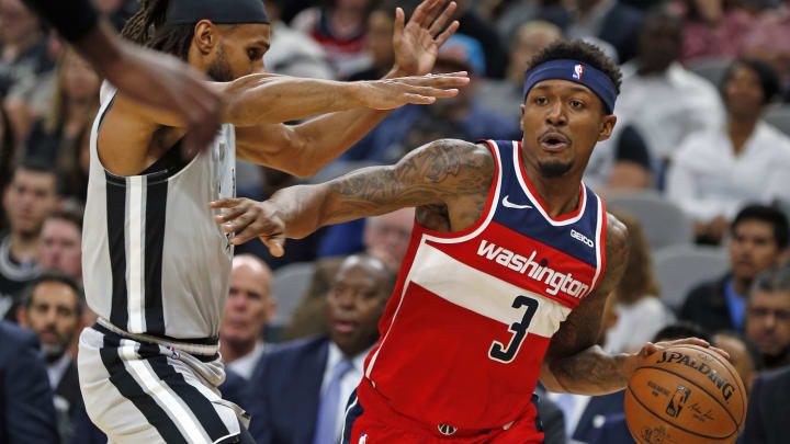 Bradley Beal of the Washington Wizards (Photo by Ronald Cortes/Getty Images)
