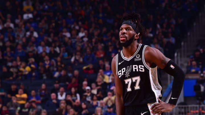 DeMarre Carroll of the San Antonio Spurs. (Photo by Noah Graham/NBAE via Getty Images)