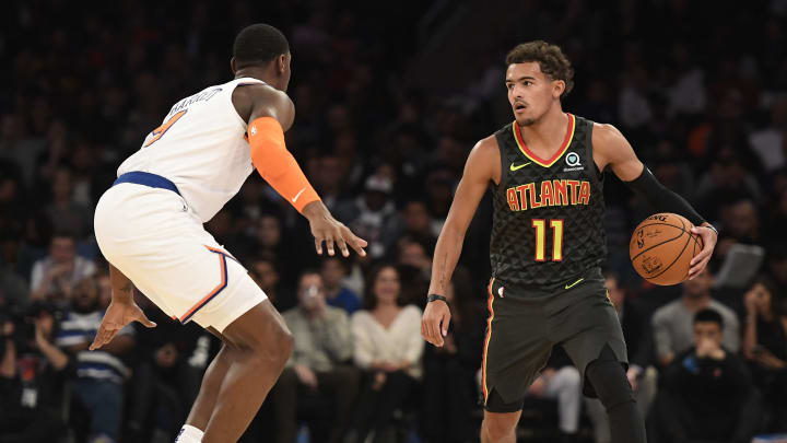 Trae Young of the Atlanta Hawks. (Photo by Sarah Stier/Getty Images)