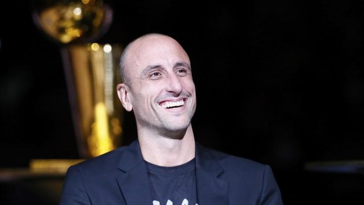 Manu Ginobili. (Photos by Chris Elise/NBAE via Getty Images)