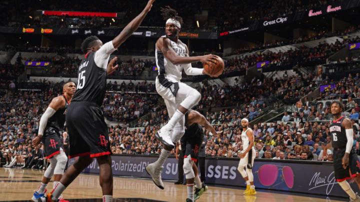 DeMarre Carroll of the San Antonio Spurs. (Photos by Darren Carroll/NBAE via Getty Images)
