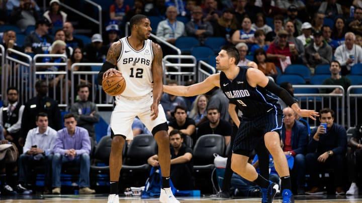 San Antonio Spurs LaMarcus Aldridge (Photo by Harry Aaron/Getty Images)