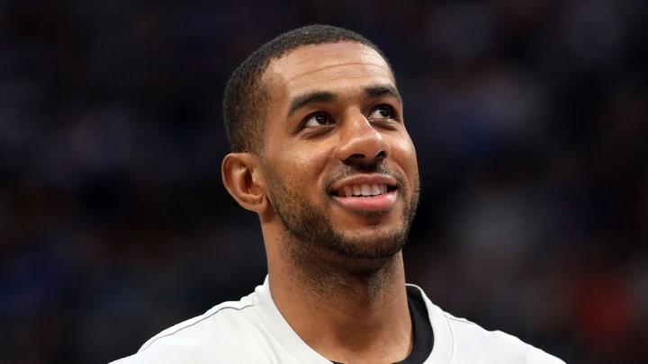 San Antonio Spurs LaMarcus Aldridge (Photo by Ronald Martinez/Getty Images)