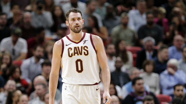 Kevin Love. (Photo by Michael Reaves/Getty Images)