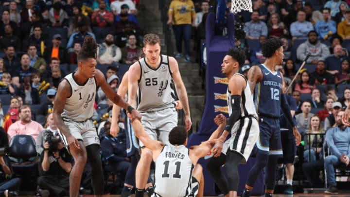 San Antonio Spurs. (Photo by Joe Murphy/NBAE via Getty Images)