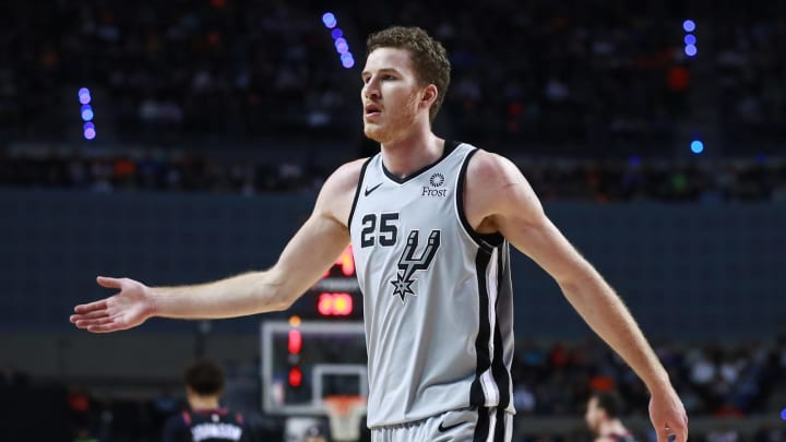 Jakob Poeltl of the San Antonio Spurs. (Photo by Hector Vivas/Getty Images)