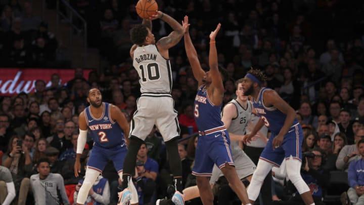 San Antonio Spurs DeMar DeRozan (Photo by Jim McIsaac/Getty Images)