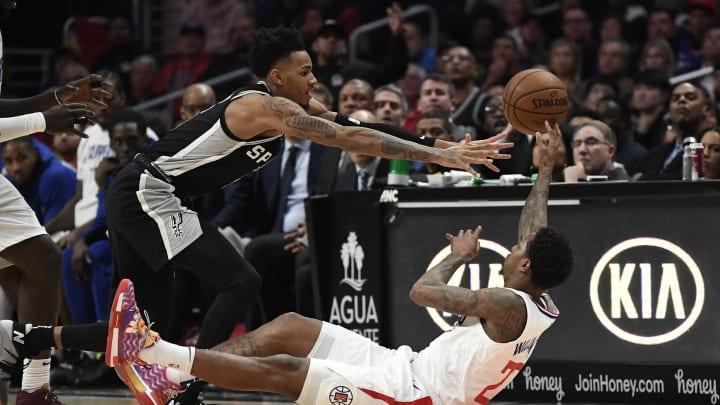 San Antonio Spurs Dejounte Murray (Photo by Kevork Djansezian/Getty Images)