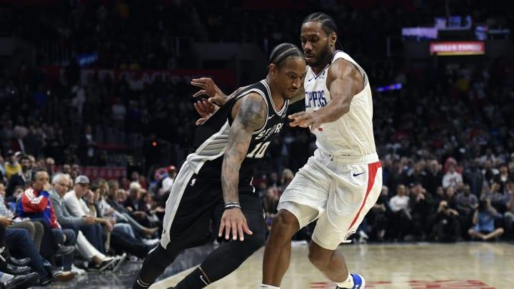 San Antonio Spurs DeMar DeRozan (Photo by Kevork Djansezian/Getty Images)