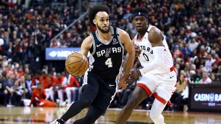 San Antonio Spurs Derrick White (Photo by Vaughn Ridley/Getty Images)