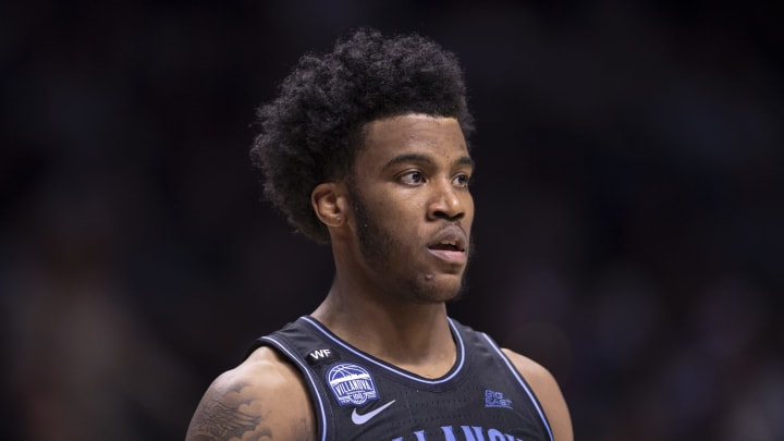 CINCINNATI, OH – FEBRUARY 22: Saddiq Bey #41 of the Villanova Wildcats is seen during the game against the Xavier Musketeers at Cintas Center on February 22, 2020 in Cincinnati, Ohio. (Photo by Michael Hickey/Getty Images)