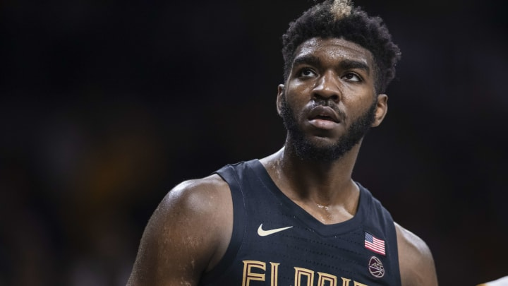 SOUTH BEND, IN – MARCH 04: Patrick Williams #4 of the Florida State Seminoles is seen during the game against the Notre Dame Fighting Irish (Photo by Michael Hickey/Getty Images)