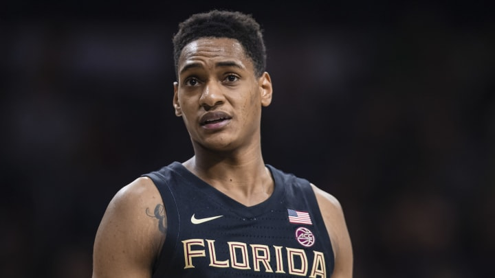 SOUTH BEND, IN – MARCH 04: Devin Vassell #24 of the Florida State Seminoles is seen during the game against the Notre Dame Fighting Irish at Purcell Pavilion on March 4, 2020 in South Bend, Indiana. (Photo by Michael Hickey/Getty Images)