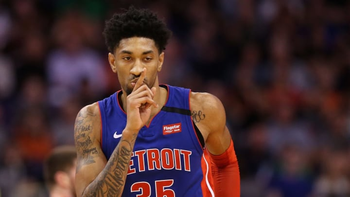 Christian Wood #35 of the Detroit Pistons should be the San Antonio Spurs' top free-agent target. Copyright 2020 NBAE. (Photo by Christian Petersen/Getty Images)