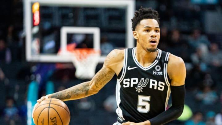 San Antonio Spurs Dejounte Murray (Photo by Jacob Kupferman/Getty Images)