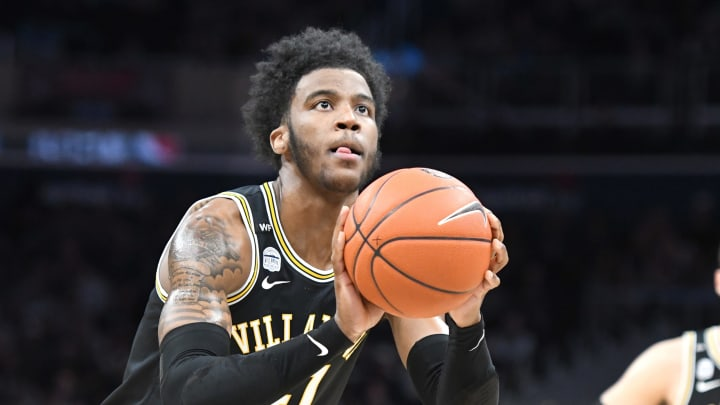 WASHINGTON, DC – MARCH 07: Saddiq Bey #41 of the Villanova Wildcats was one of the most intriguing wing prospects from the 2020 NBA Draft class. (Photo by Mitchell Layton/Getty Images)