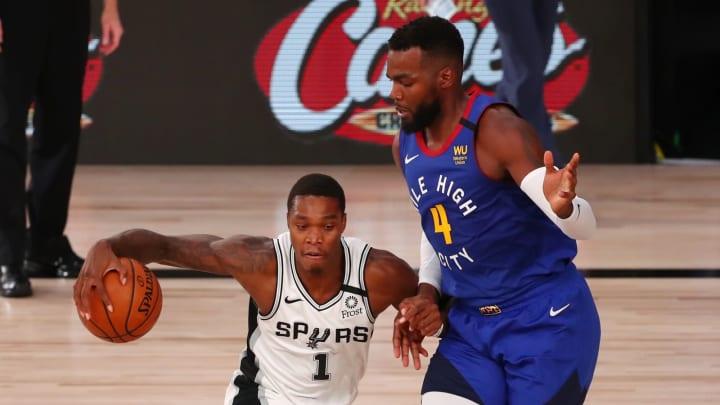 San Antonio Spurs Lonnie Walker (Photo by Kim Klement-Pool/Getty Images)