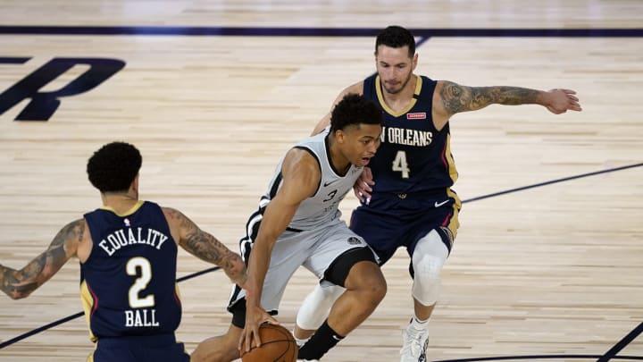 San Antonio Spurs Keldon Johnson (Photo by Ashley Landis – Pool/Getty Images)