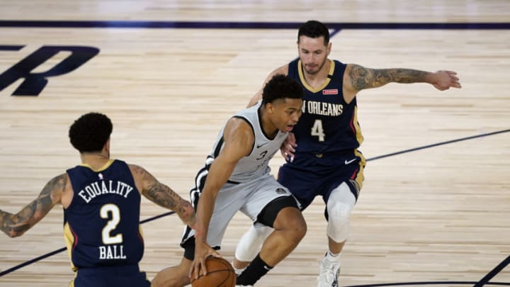San Antonio Spurs Keldon Johnson (Photo by Ashley Landis - Pool/Getty Images)