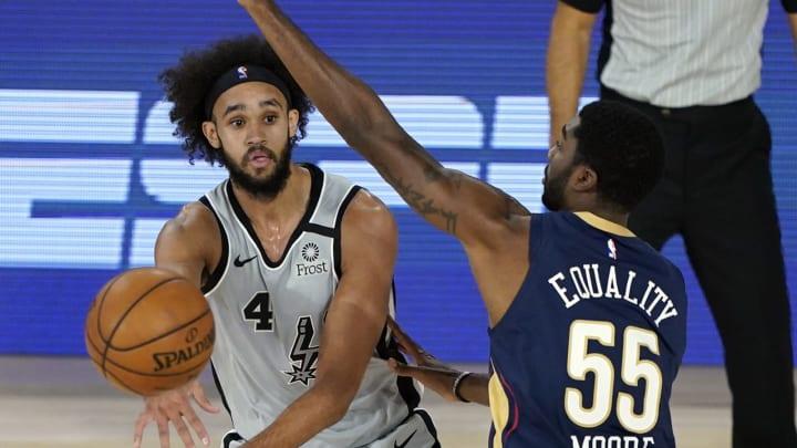 San Antonio Spurs Derrick White (Photo by Ashley Landis – Pool/Getty Images)
