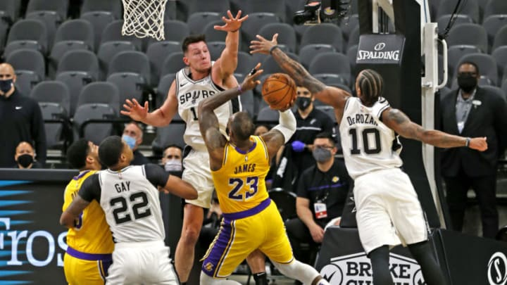 Rudy Gay LeBron James DeMar DeRozan(Photo by Ronald Cortes/Getty Images)