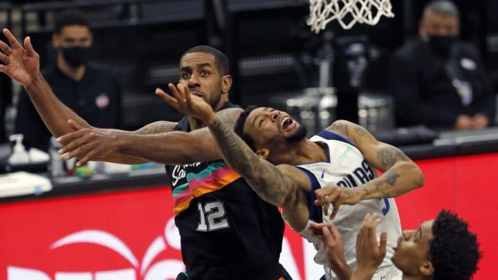 San Antonio Spurs LaMarcus Aldridge (Photo by Ronald Cortes/Getty Images)