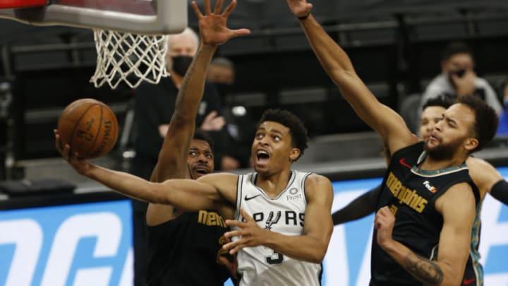 San Antonio Spurs Keldon Johnson (Photo by Ronald Cortes/Getty Images)