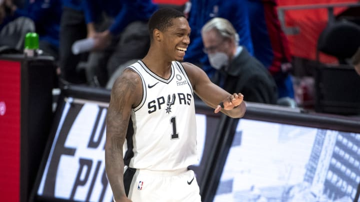 San Antonio Spurs Lonnie Walker (Photo by Nic Antaya/Getty Images)
