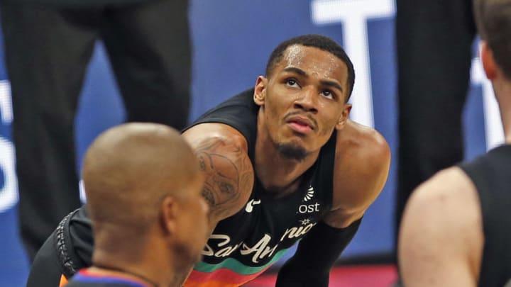 San Antonio Spurs Dejounte Murray (Photo by Ronald Cortes/Getty Images)