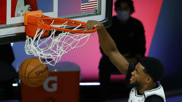 San Antonio Spurs Rudy Gay (Photo by Kevin C. Cox/Getty Images)