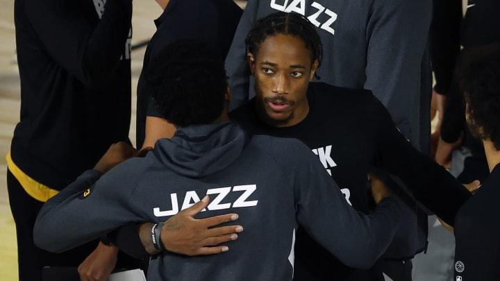 San Antonio Spurs DeMar DeRozan (Photo by Kevin C. Cox/Getty Images)