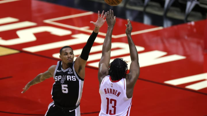 San Antonio Spurs Dejounte Murray (Photo by Carmen Mandato/Getty Images)
