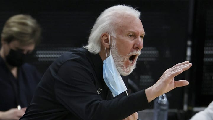 Gregg Popovich (Photo by Tom Pennington/Getty Images)