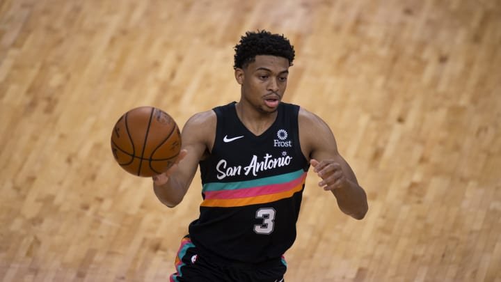San Antonio Spurs Keldon Johnson (Photo by Brett Carlsen/Getty Images)