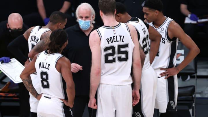 San Antonio Spurs (Photo by Sean M. Haffey/Getty Images)