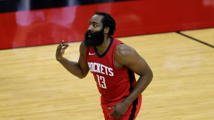 James Harden (Photo by Carmen Mandato/Getty Images)