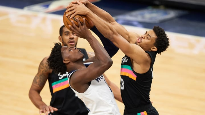 San Antonio Spurs Keldon Johnson (Photo by Hannah Foslien/Getty Images)