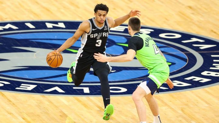 San Antonio Spurs Keldon Johnson (Photo by Harrison Barden/Getty Images)
