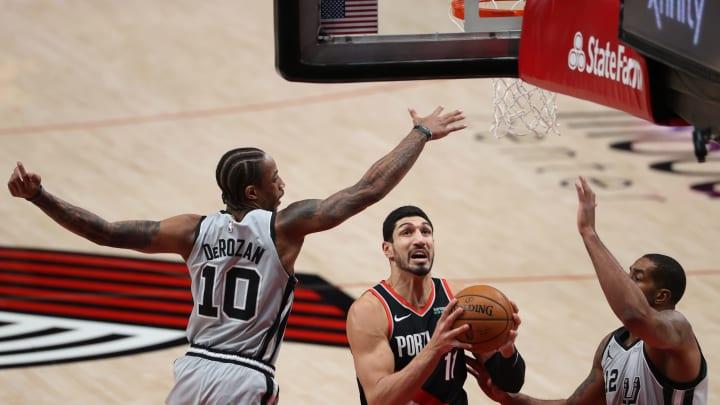 San Antonio Spurs DeMar DeRozan (Photo by Abbie Parr/Getty Images)