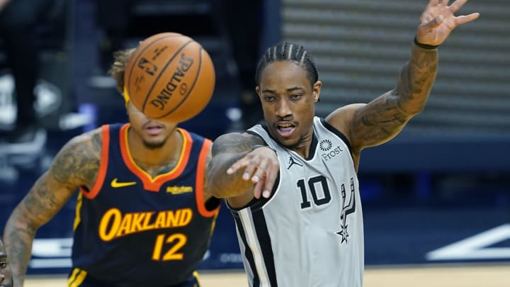 San Antonio Spurs DeMar DeRozan (Photo by Thearon W. Henderson/Getty Images)