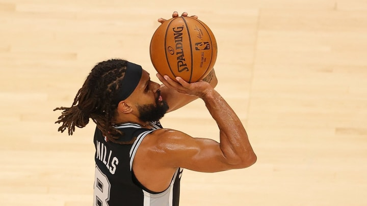 San Antonio Spurs Patty Mills (Photo by Kevin C. Cox/Getty Images)
