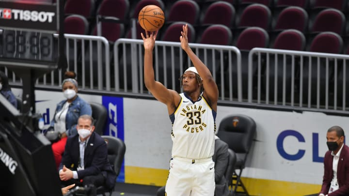 Myles Turner (Photo by Jason Miller/Getty Images)